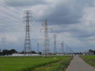 栃山線とJR線