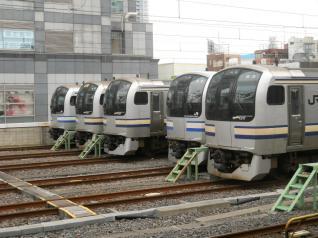 E217系勢ぞろいIN錦糸町