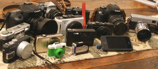 カメラ集合