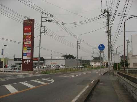 県道野木古河線・茨城栃木県境