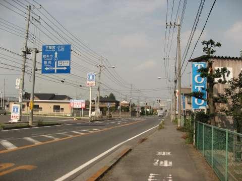 国道4号・友沼