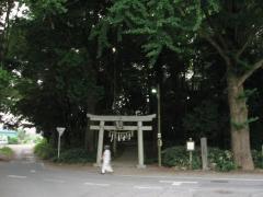 千駄塚古墳・浅間神社