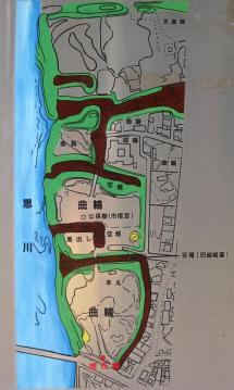 小山城縄張図