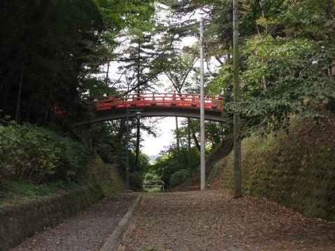 小山城空堀跡・旧結城道
