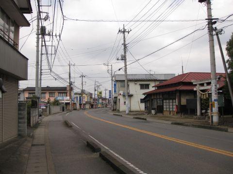 県道265号・愛宕神社前