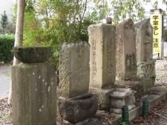 羽川の石仏群