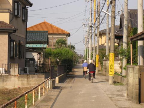 旧日光街道・川中子