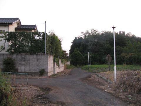 上三川町飛び地の旧道