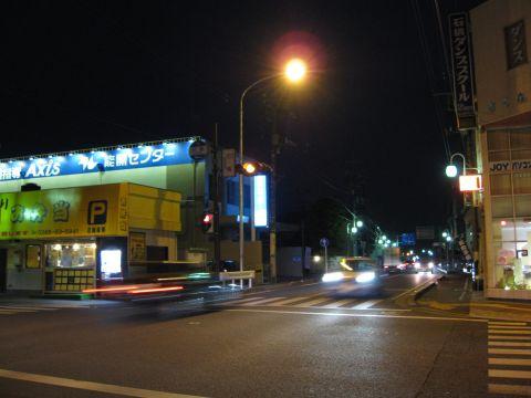 石橋宿夜景
