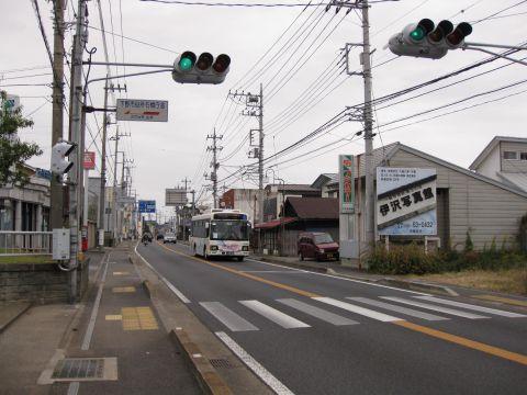 石橋宿・脇本陣跡付近