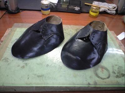靴 アッパー