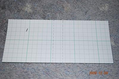 マネークリップの型紙