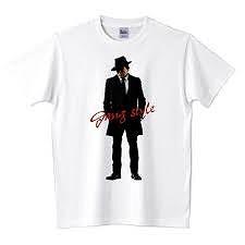 ギャング風Tシャツ