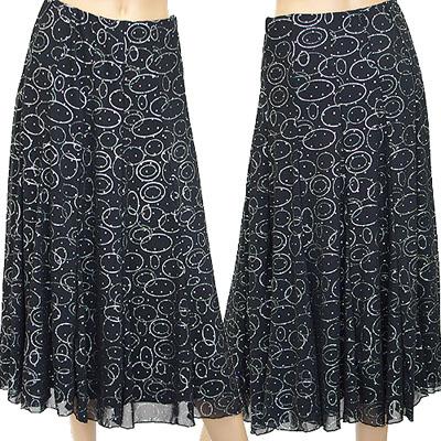フラッシュラバープリントスカート