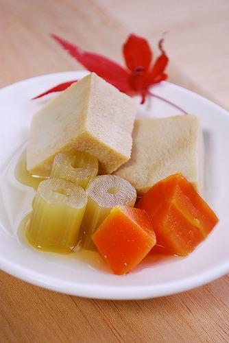 高野豆腐とフキの煮物DSC_0055