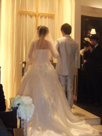 結婚式4月10日