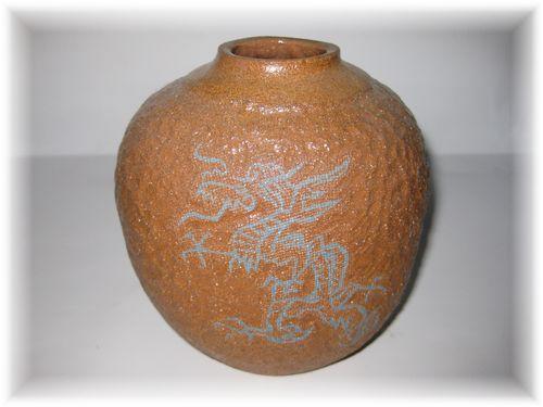 象嵌透明釉薬(土灰)