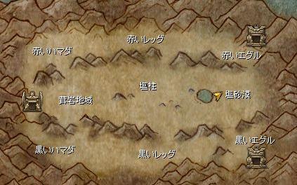 神殿編その5(神殿エリアマップ)