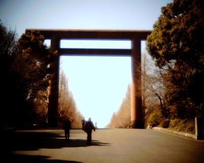 靖国神社大鳥居:Entry