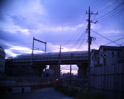 夕暮れ新幹線:R2改