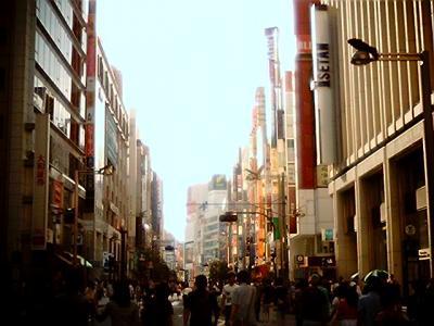 新宿ホコ天・昭和レトロ調:Entry