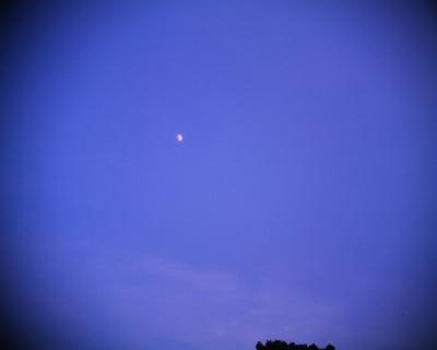 夕空の月:R2