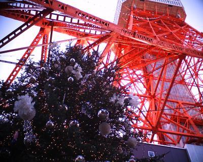 東京タワーとクリスマスツリー:R2