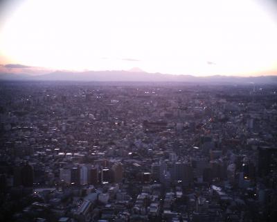 今年最初の富士山:R2