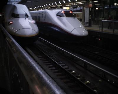 雪の日の東京駅で:R2