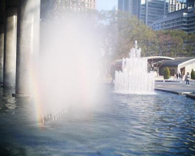 噴水の二重虹:R2