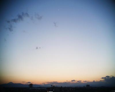 富士山と月見:R2