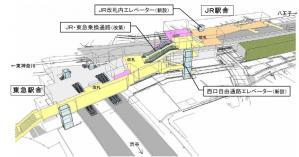 菊名駅カラー