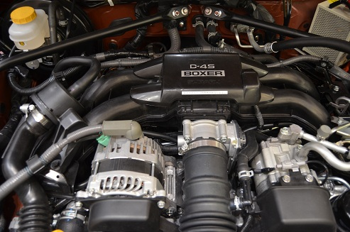 「86」 水平対向エンジン