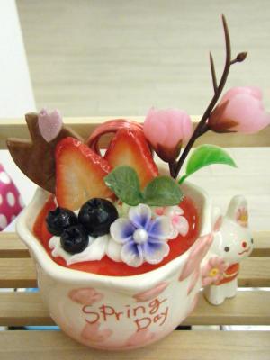 カードスタンド 陶器カップ