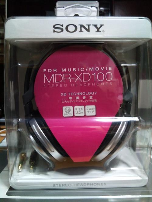 MDR-XD100