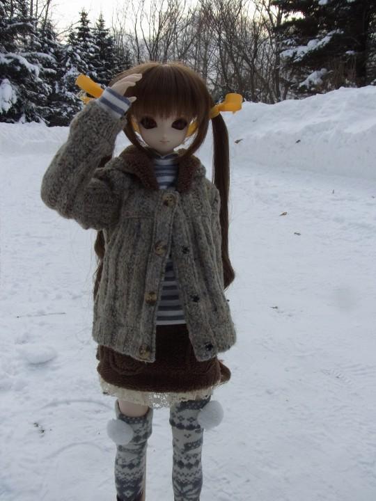 百合が原 冬11