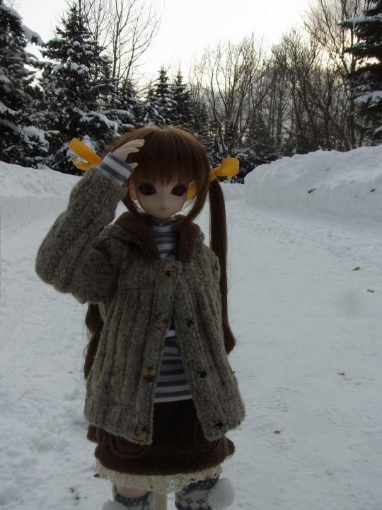 百合が原 冬10