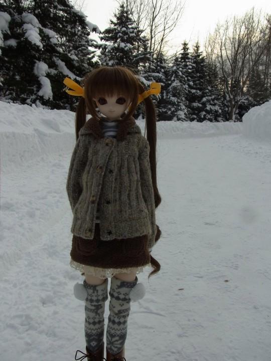百合が原 冬09
