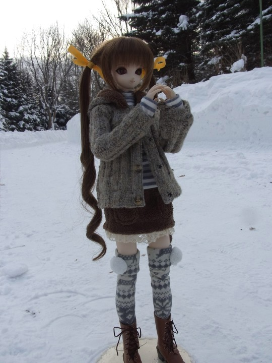 百合が原 冬14
