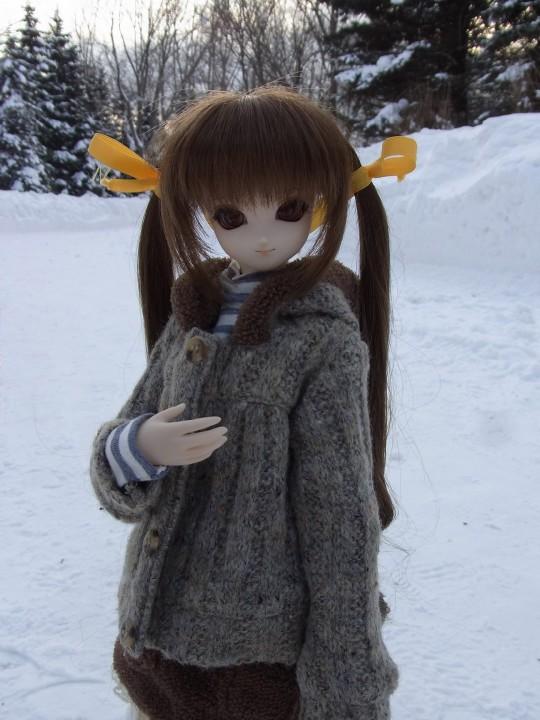 百合が原 冬18