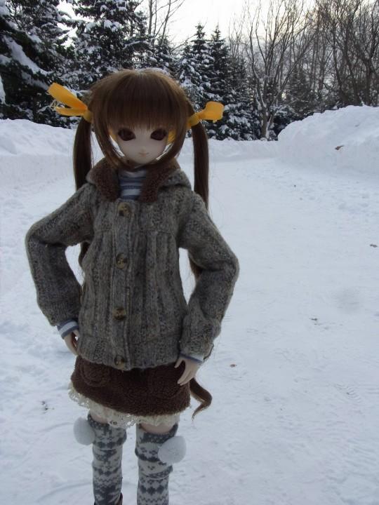 百合が原 冬17