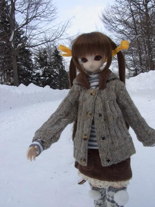百合が原 冬16