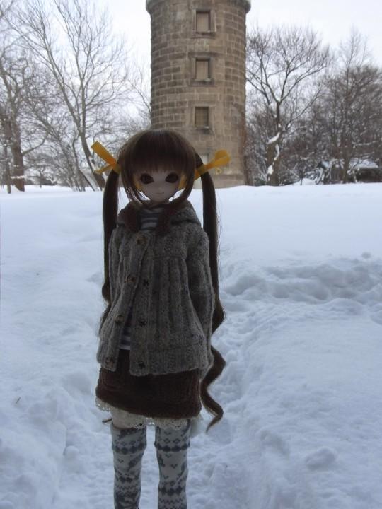 百合が原 冬23