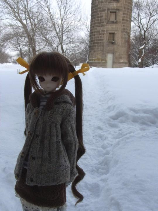 百合が原 冬24