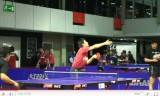 水谷隼のサーブ練習2(世界卓球2011練習)