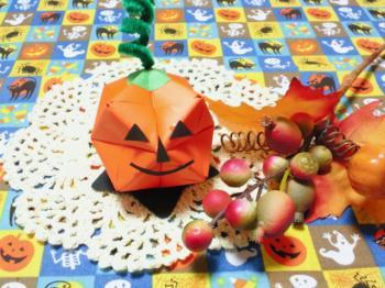 おりがみかぼちゃ2