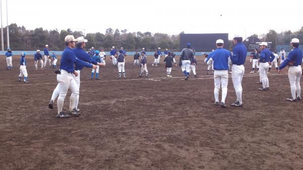 城国野球教室1