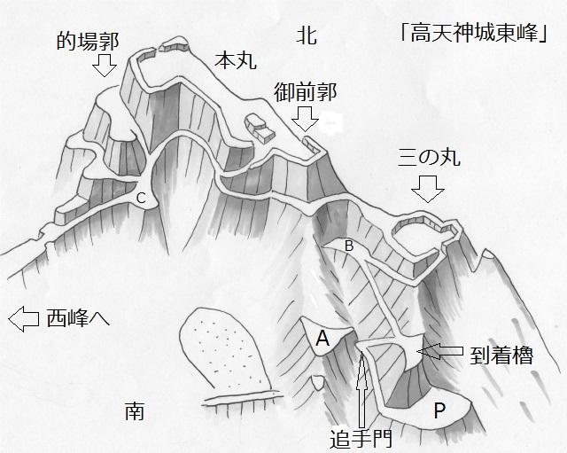 高天神東峰