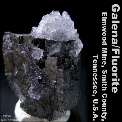 方鉛鉱&蛍石_テネシー1