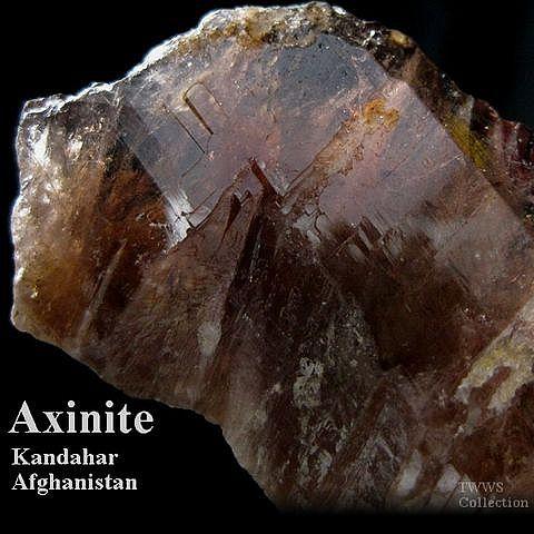 斧石_アフガニスタン1
